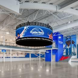 cedar point sports center Foyer mosser Sandusky Ohio
