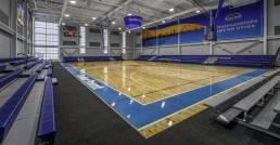 edar point sports center Championship basketball court mosser
