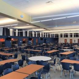 Cafeteria Interior Lorain High School Mosser
