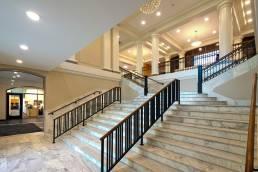 BGSU University HALL stairs