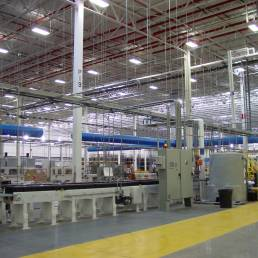 Johnson Controls Battery Plant Interior
