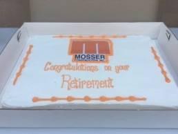 Orange Mosser Cake