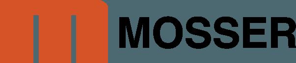 MOSSER logo black