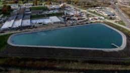 Collins Park Water Treatment Plant Water and City Mosser