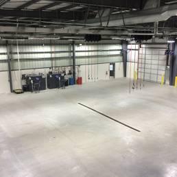 CNG Truck Maintenance Facility Interior