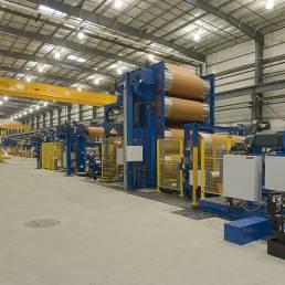 Fenner Dunlop interior warehouse Toledo