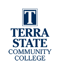 Terra State Community College Blue Logo