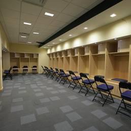 University of Toledo Savage Arena Locker Room Interior Mosser