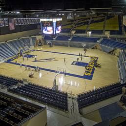 University of Toledo Savage Arena Basketball Interior Mosser