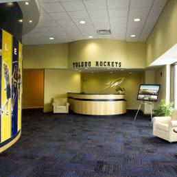 University of Toledo Savage Arena Lobby
