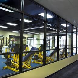 University of Toledo Weight Room Interior