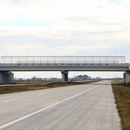 Overview Fort to Port Overpass Mosser Lucas County