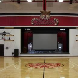 Kenton City Schools Gymnasium Stage Mosser