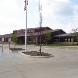 Kenton City Schools Front Entrance Mosser