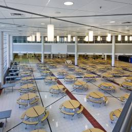 Penta Career Center Cafeteria
