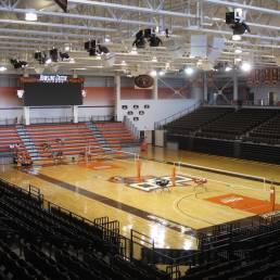Interior Stroh Center BGSU Ohio Mosser