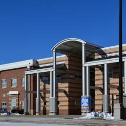 Side View of Reynolds Elementary Mosser