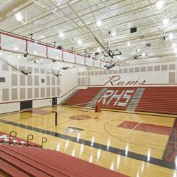 Gymnasium and Bleachers Rogers Toledo Mosser