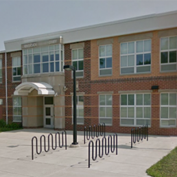Riverside Elementary Sign and Entrance Mosser