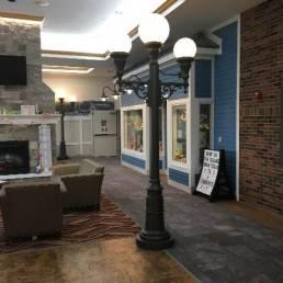 Ottawa County Riverview Health Care Lobby