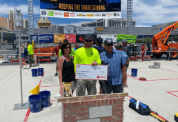 Mosser Apprentice Ryan Clark Wins National Bricklaying Competition